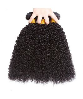 Kinky Curl Virgin Human Hair Bundles